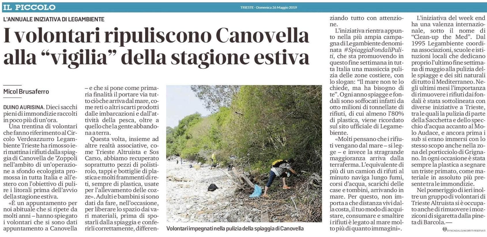 240066b11b7c I volontari ripuliscono Canovella alla
